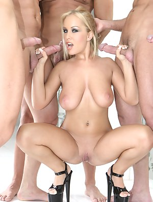 MILF Gangbang XXX Pictures