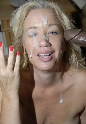 Porn Milf Facial