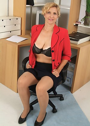 MILF Office XXX Pictures