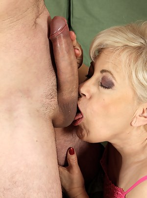 MILF Ball Licking XXX Pictures