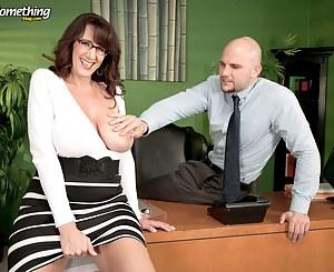 MILF Secretary XXX Pictures