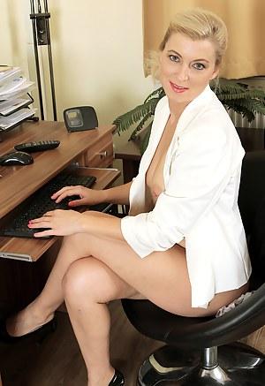 MILF Office XXX Pictures
